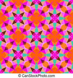 パターン, 明るい, 幾何学的, 多色刷り, color.