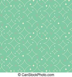 パターン, 星, 1950s, 背景