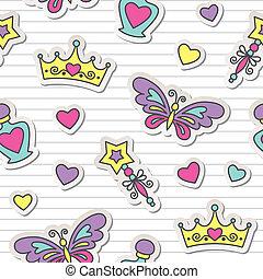パターン, 王女
