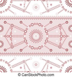 パターン, 現代, 装飾, seamless, ベクトル, 民族, 幾何学的