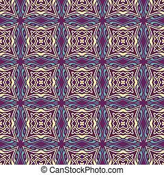 パターン, 現代, 装飾, seamless, 背景, 民族, 幾何学的