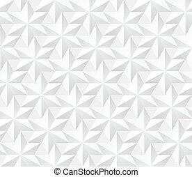 パターン, 現代, -, seamless, ベクトル, volum, 星, 幾何学的, 六角形