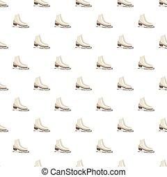 パターン, 白, フィギュアスケートする