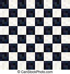 パターン, 白, 広場, 黒, seamless