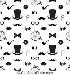 パターン, 白, 情報通, 黒, seamless