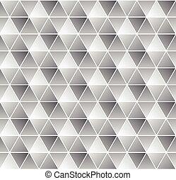 パターン, 白, 黒, seamless, 幾何学的
