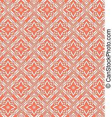 パターン, 白, seamless, 赤