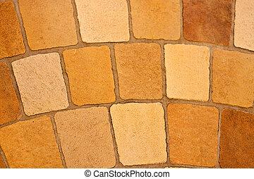 パターン, 石, 円パターン