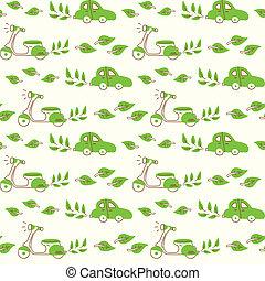 パターン, 緑, 輸送