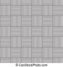パターン, 線である, seamless