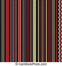パターン, 縦, 民族