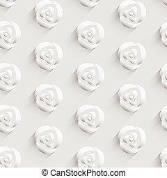 パターン, 背景, ∥で∥, バラ, 花