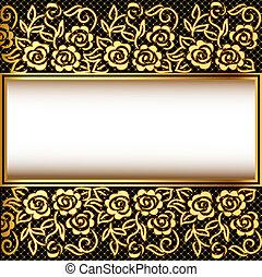 パターン, 背景, 網, gold(en)