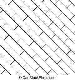 パターン, 背景, seamless, イラスト, 寄せ木張りの床