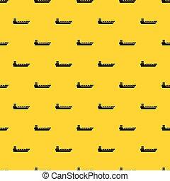 パターン, 船, ベクトル, タンカー, オイル