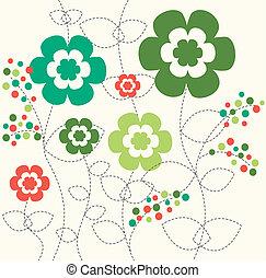 パターン, 花