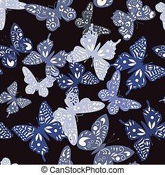 パターン, 蝶, コレクション