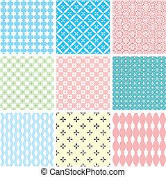 パターン, 装飾, seamless