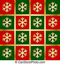 パターン, 雪片