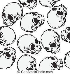 パターン, 頭骨