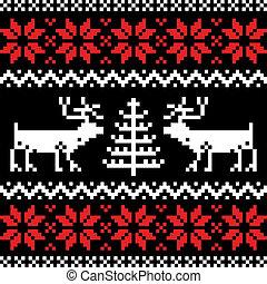 パターン, 黒, nordic