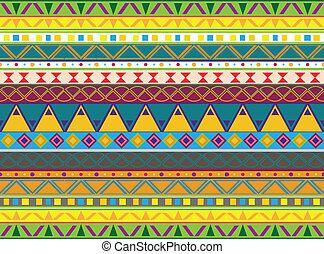 パターン, aztec
