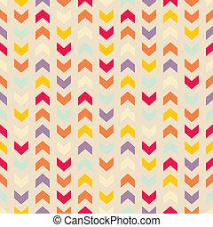 パターン, aztec, ベクトル, seamless