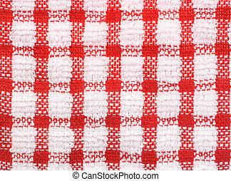 パターン, checkered, テーブル, 手ざわり, 布