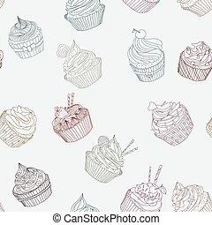 パターン, cupcake