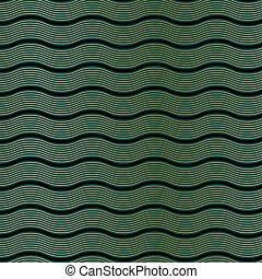 パターン, deco, 芸術, 波