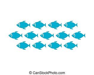 パターン, fish