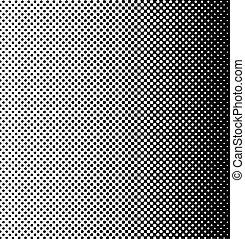 パターン, halftone