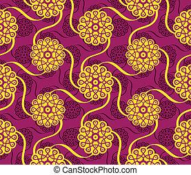 パターン, indian, seamless