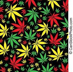 パターン, jamaican, マリファナ