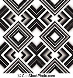 パターン, rhombuses, seamless