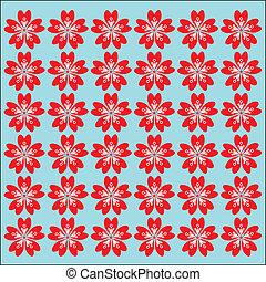 パターン, sakura, seamless