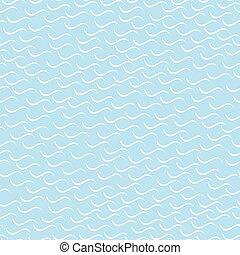 パターン, -, seamless, バックグラウンド。, 波状, モザイク