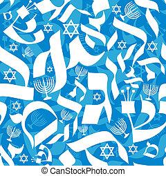 パターン, seamless, ヘブライ語