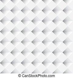 パターン, seamless, ベクトル, 背景, 白, 幾何学的