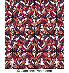 パターン, seamless, モザイク