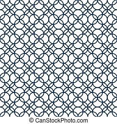 パターン, seamless, モノクローム, 幾何学的