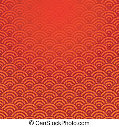 パターン,  seamless, 中国語