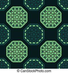 パターン, seamless, 八角形