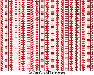 パターン, seamless, 刺繍