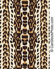 パターン, seamless, 動物皮膚