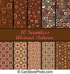 パターン, seamless, 幾何学的, 10