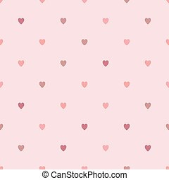 パターン, seamless, 手ざわり, ベクトル, hearts., 幾何学的, 繰り返すこと