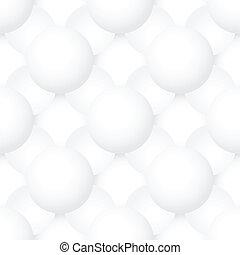 パターン, -, seamless, 手ざわり, ボリューム, 球, ベクトル, 幾何学的
