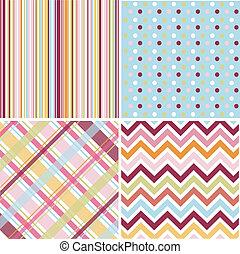 パターン, seamless, 手ざわり, 生地
