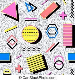 パターン, seamless, 抽象的